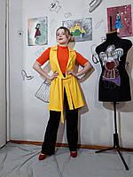 Женский кардиган жилет сарафан трикотаж хлопок  летний Кардіган жіночий в різних кольорах
