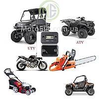 Счётчик моточасов (мотокросс, ATV, питбайк, генератор, лодочный двигатель) черн