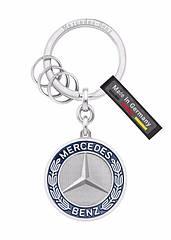 Оригинальный брелок Mercedes-Benz Key Ring, Stuttgart, Silver (B66041524)