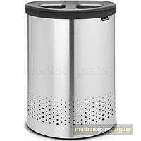 Корзина для белья Brabantia 105029 Laundry Bin 55l матовая сталь