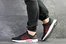 Летние мужские кроссовки Under Armour Hovr,сетка,черные с красным 46р, фото 2