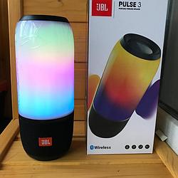 Портативная КОЛОНКА JBL Pulse 3 Bluetooth 6000мАч ДЖБЛ Блютуз FM радио Пульс