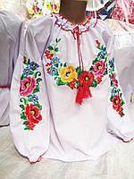 """"""" Мальва """" вышиванка детская 128 - 146 р."""