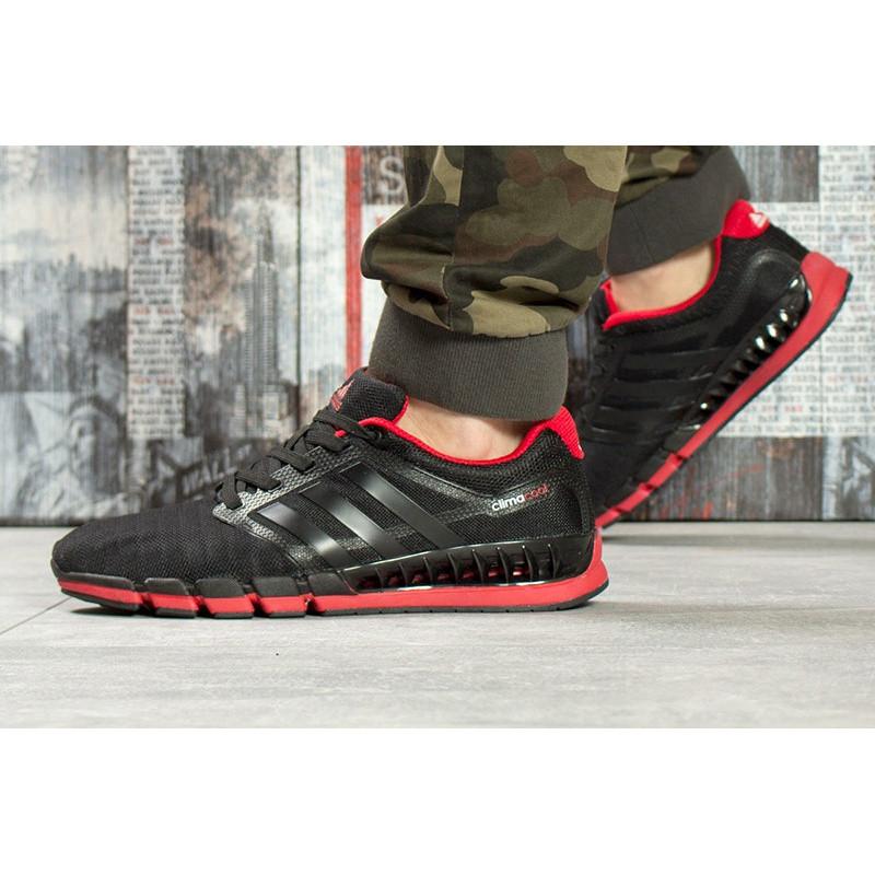 b32b6c39 Мужские кроссовки Adidas Climacool Revolution черные с красным р.41 Акция  -52%!
