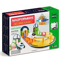 Magformers Магнитный конструктор 54 детали трек 799013 Sky Track 54Pc Set, фото 1
