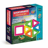 Magformers Магнитный конструктор 14 деталей неон 63001 Creator Neon Color Set, фото 1