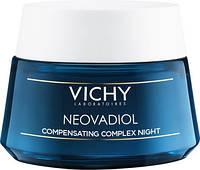 Ночной антивозрастной крем-уход для всех типов кожи Vichy Neovadiol Night Compensating Complex