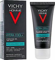 Увлажняющий гель с охлаждающим эффектом Vichy Homme Hydra Cool+   50 мл