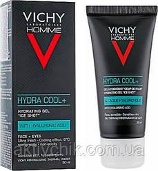 Увлажняющий гель с охлаждающим эффектом Vichy Homme Hydra Cool+