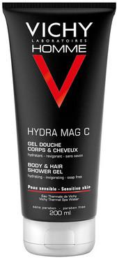Тонизирующий гель для душа для мужчин Vichy Homme Hydra Mag C Gel Douche