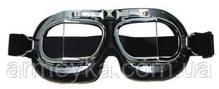 Очки авиатор (хром)