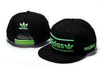 Кепка Adidas Snapback черно-зеленая
