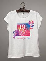 Футболка женская BEU logo / BEU Логотип