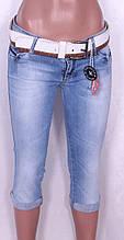 Женские джинсовые капри