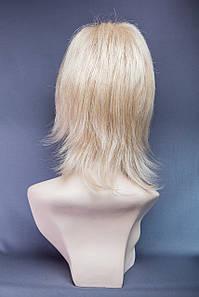 Парик пышный №10,цвет мелирование пшеничный с блондом