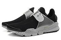 Летние женские кроссовки Nike Sock Dart SP черные, фото 1