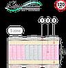 Ортопедический матрас Велам Platinum (Платинум)