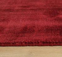 Красный ковер, ковры под шелк из вискозы, однотоные толстые ковры, фото 1
