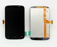 Дисплей экран с тачскрином сенсором HTC A320e PL01100 Desire C