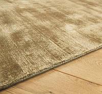 Золотой ковер, ковры под шелк, дизайнерский современный ковер для кабинета, фото 1