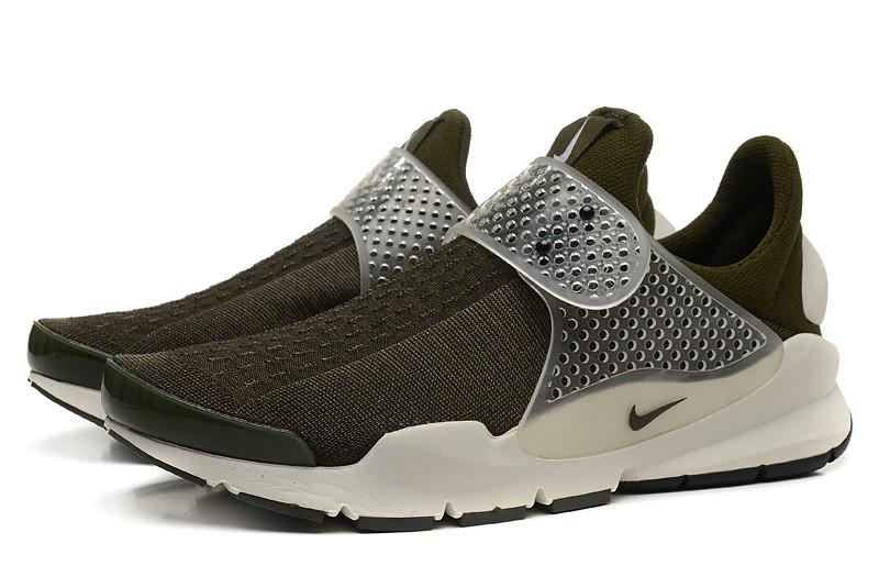 Летние женские кроссовки Nike Sock Dart SP хаки - Интернет магазин обуви  Shoes-Mania в 507cd7c5a02