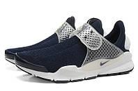 Летние женские кроссовки Nike Sock Dart SP blue, фото 1