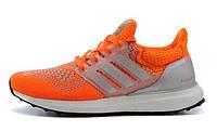 Женские кроссовки Adidas Ultra Boost orange