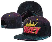 Кепка Obey Snapback Violet-Blue