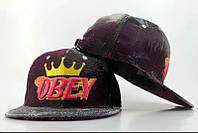 Кепка Obey Snapback Violet-Grey