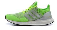 Женские кроссовки Adidas Ultra Boost зеленые