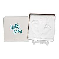 Baby Art - Магическая коробочка Квадратная для отпечатка ладошки и ножки, фото 1
