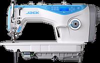 Одноигольная швейная машина Jack JK  A5H  (прямострочная с автоматической закрепкой и обрезкой нити), фото 1