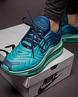 Кроссовки женские в стиле Nike air Max 720 Deep Royal Blue