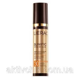Солнцезащитный антивозрастной крем Lierac Sunific Premium Voluptuous Cream SPF 30