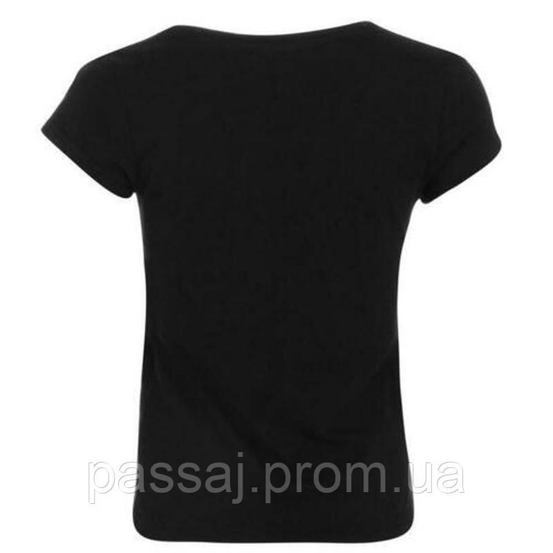 Черная новая футболка oldham athletic script