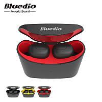 Bluedio T-elf mini Air pod Bluetooth 5 беспроводные музыкальные наушники для спорта Red - красный