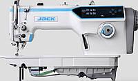 Одноигольная швейная машина Jack JK  A6F  (прямострочная с автоматической закрепкой и обрезкой нити), фото 1