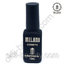 Каучуковая база для гель-лака Rubber Base Gel Milano Cosmetic, 12 мл