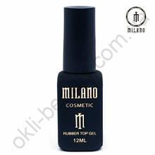 Каучуковый топ для гель-лака Rubber Top Gel Milano Cosmetic, 12 мл