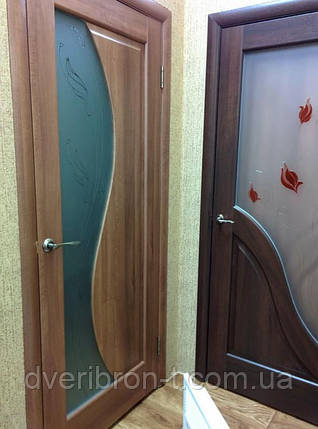 Двери Новый Стиль Амата +Р1 каштан, коллекция Маэстра Р, фото 2