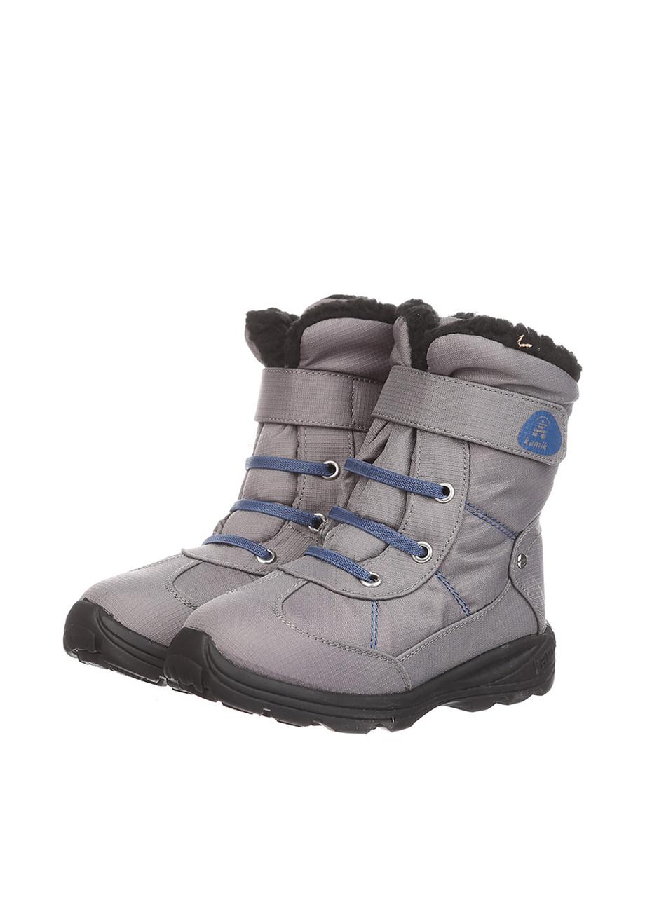 Ботинки Kamik SNOWMAN угольный