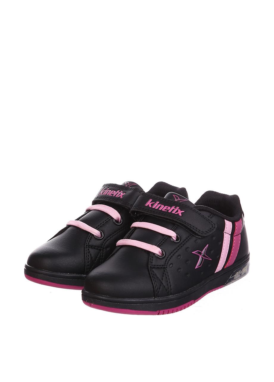 Кроссовки Kinetix LARTON чёрный-фуксия-розовый