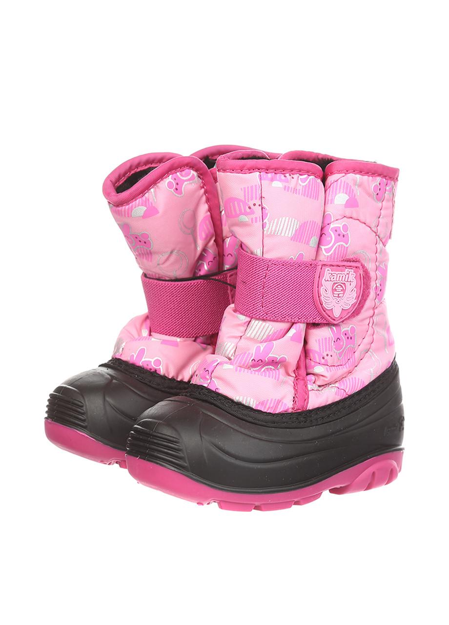 Ботинки Kamik SNOWBUG4 сливово-пурпурный