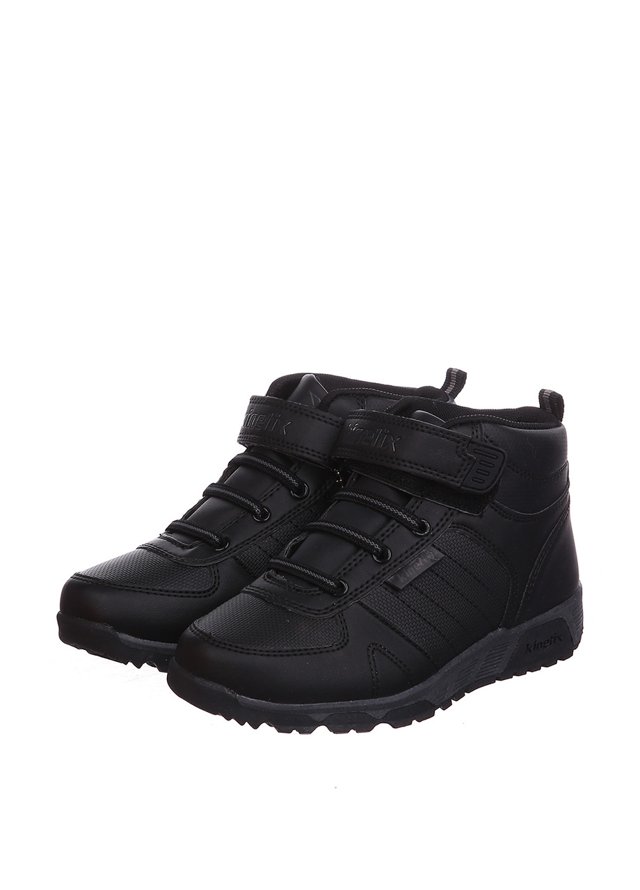 Кроссовки Kinetix BRONK HI чёрно-серый