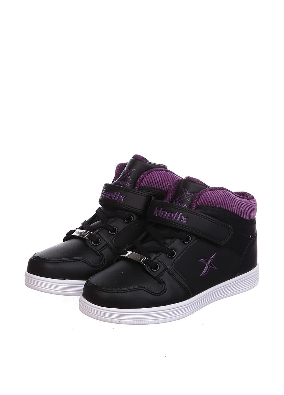 Кроссовки Kinetix TASO чёрно-фиолетовый
