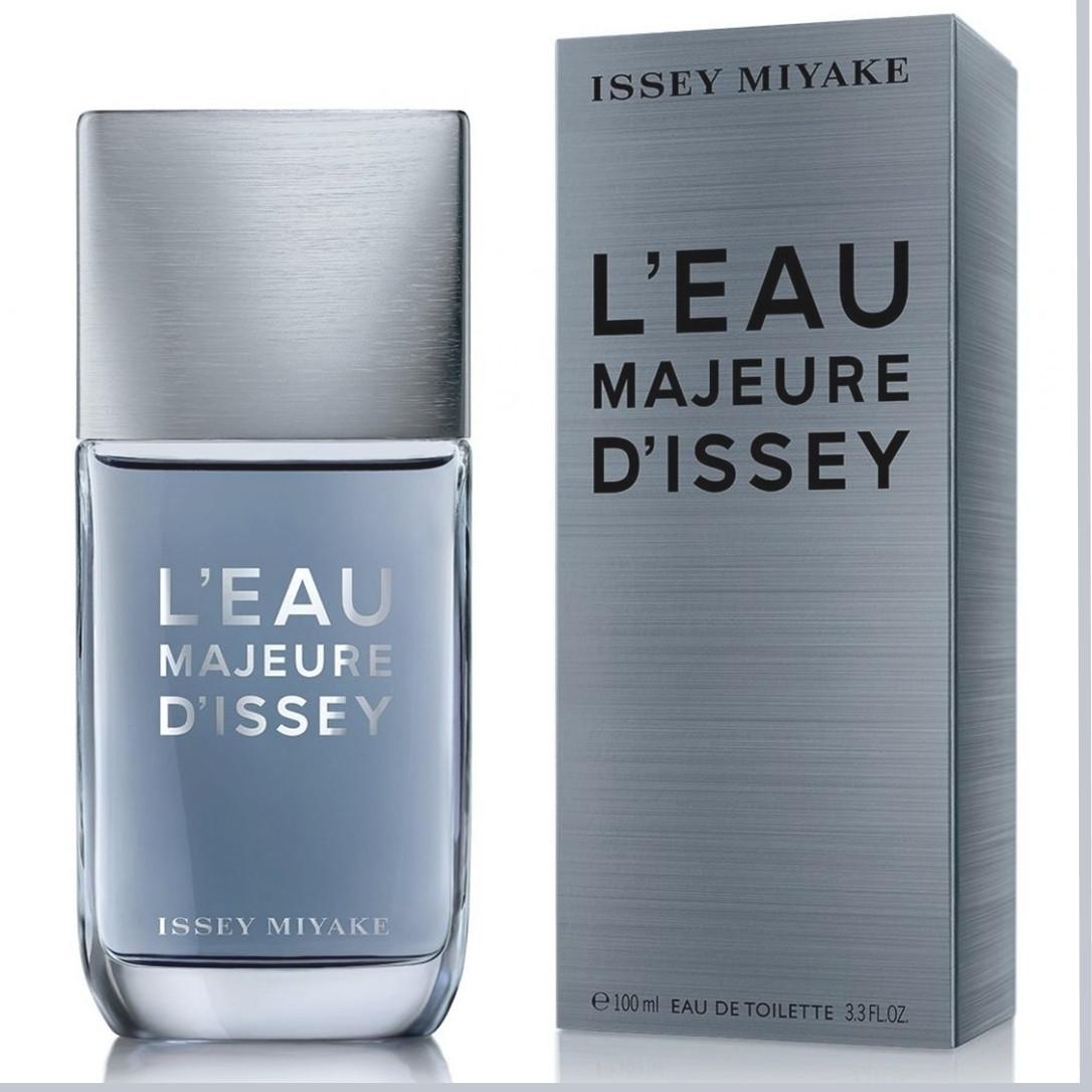 Issey Miyake L'Eau Majeure D'Issey туалетная вода 100 ml. (Иссей Мияке Л`Еау Мажор Д`Иссей)