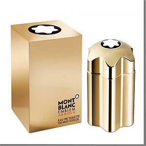 Mont Blanc Emblem Absolu туалетная вода 100 ml. (Монт Бланк Эмблема Абсолю)