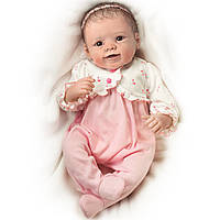 Кукла реборн Sadie ,дышащая ,США .