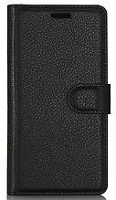 Кожаный чехол-книжка для Samsung Galaxy S8 черный