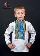 Дитяча вишиванка ткана на хлопчика, арт. 0117
